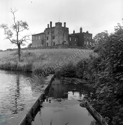 Ripley Castle and Lake, 1970